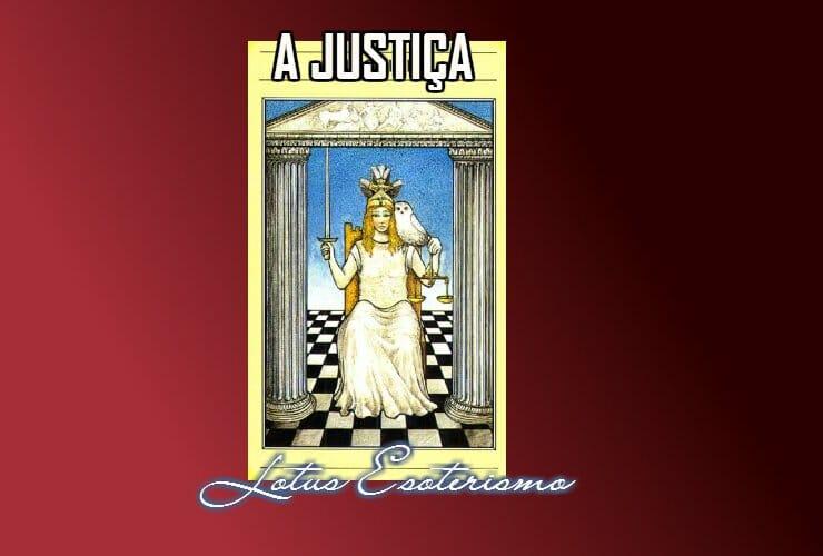 Justiça significados das cartas de Tarot