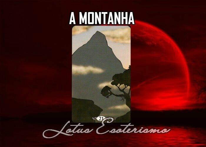 Montanha significados no Baralho Cigano