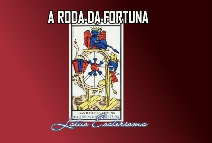 Roda da Fortuna significados das cartas de Tarot