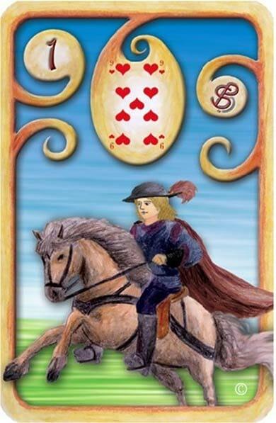 carta-cavaleiro-baralho-cigano