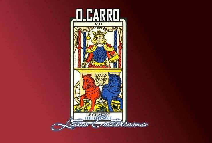 O Carro significados das cartas de Tarot