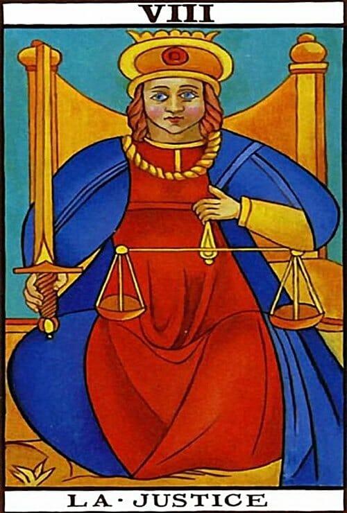 justiça-tarot