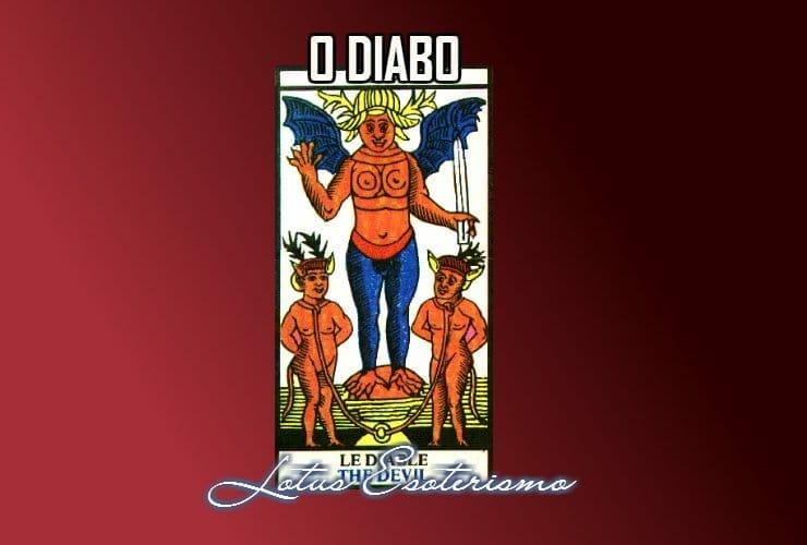 O Diabo significados das cartas de Tarot